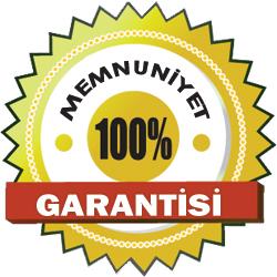 100% Memnuniyet Garantisi